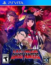 Tokyo Twilight Ghost Hunters [PlayStation Vita PSV, Strategy Visual Novel] NEW