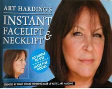 Secret Lift Instant Face and Neck Lift (Dark Hair) Facelift Tapes. Anti Wrinkles