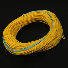 Weight Forward Floating Fly Fishing Line For Spey Rod 8/9/10wt 125FT Yellow&Blue