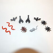 lego lot of 10 animals criters spider snake scorpion bat rat mini figure minifig