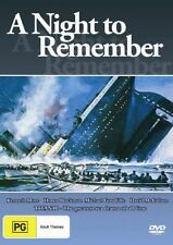 A Night To Remember New DVD Region 4 Sealed
