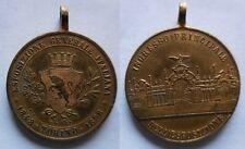 medaglia esposizione generale italiana Torino 1898 50° statuto albertino