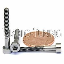 3mm x 0.50 x 25mm - TITANIUM SOCKET HEAD CAP Screw - DIN 912 Grade 5 Ti M3 Hex