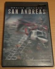 San Andreas DVD disc/case/imperfect cover only No digital copy- previous viewed