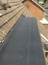 SELF ADHESIVE  QUALITY FLAT ROOF AND SHED FELT  1 MTR  WIDE x 3 MTRS. LONG GREEN