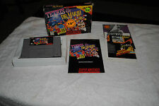 TETRIS AND DR MARIO SUPER NINTENDO GAME SNES COMPLETE IN BOX 1ST RUN