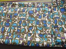 Coupon de 2 m d'un joli tissu vintage pour confection robe ou jupe femme