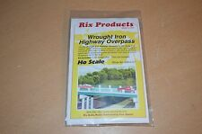 "Rix Products HO Scale Kit ""Wrought Iron Highway Overpass"" 0121 NEW"