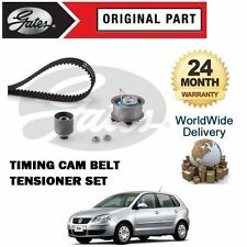 FOR VOLKSWAGEN VW POLO 1.4 TDI 6v  2001-2009 GATES TIMING CAM BELT TENSIONER KIT