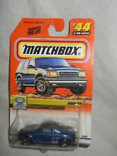 1:64 Scale: Matchbox: Series 9: Audi TT Coupe, No. 96331, #44 of 100 vehicles