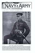 1901 T Kelly-Kenny Adjutant-general Official Secrecy Danger