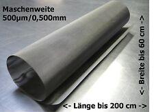 33x23cm Edelstahlgewebe für Trommelfilter Teichfilter 0,500mm 500µm