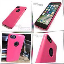 Original Apple iPhone 7 Case Genuine Tech TPU Flex Silicone Leather Bumper Pink