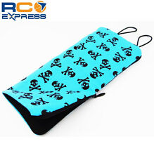 Hot Racing 1:10 Scale Black and Blue Skull Sleeping Bag (Toy) ACC58S06