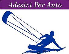 ADESIVO PER AUTO - 10x15 centimetri - KITE - KITESURFING - NOVITà!!