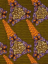 African Fabrics Stores Online Real Wax Butterfly Designs For Dressing rw1919