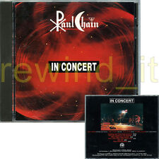 "PAUL CHAIN ""IN CONCERT"" RARE CD 1993 ITALY"