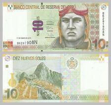 Peru 10 Nuevos Soles 2013 p187 unz.