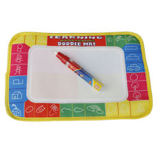 Water Writing Painting Drawing Mat Board Magic Pen Doodle Kids Game Toys