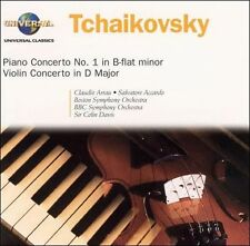 Tchaikovsky: Piano Concerto No. 1; Violin Concerto (CD, Jun-2003, Philips)