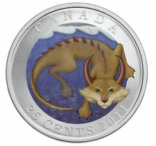 2011 Canada 25 cent Coloured Coin - Mishepishu
