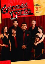 GEORGE LOPEZ SHOW: THE COMPLETE FIFTH SEASON 5 (3PC) Region Free DVD - Sealed