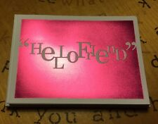 Any Occasion Hello Friend Blank Cards Inside Complete With Envelopes By Hallmark