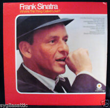 FRANK SINATRA-WHAT IS THIS THING CALLED LOVE-Near Mint  Jazz Album-CAPITOL DF530