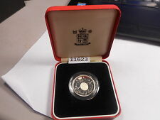 1994 Great Britain Silver Proof 2 Pound Boxed No COA .925 Fine - # 11623 - Nice