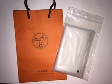 Guaranteed Authentic Hermes Raincoat Plastic Sleeper Cover Size 8 for Lindy Bag
