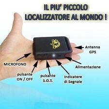 MINI GPS TRACKER ANTIFURTO LOCALIZZATORE SATELLITARE + CAVO BATTERIA OMAGGIO