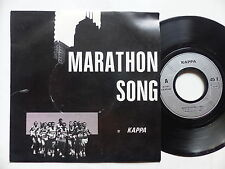 KAPPA Marathon song CA 94350 Cold wave rock FRANCE Lille Autoproduit 1984