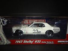 Greenlight Shelby Mustang 1967 Jerry Titus Shelby Tribute 1/18