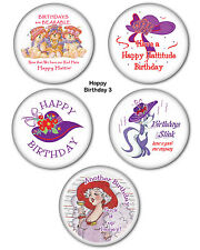 #3 BIRTHDAY Button GROUP FOR THE RED HAT LADIES OF SOCIETY PARTY FAVORS GIFTS