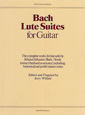 Bach Lute Suites For Guitar Learn to Play Classical Guitar Music Book