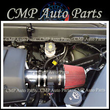 BLACK & RED 2007-2010 SATURN OUTLOOK XE XR 3.6 3.6L V6 AIR INTAKE KIT SYSTEMS