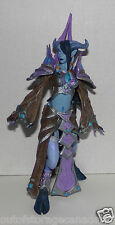 Blizzard World of Warcraft Draenei Mage Tamuura Action Figure No Sword VGC