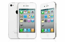 Apple IPhone 4 -8 GB-Bundle Package: wall & car charger,brand-new earphones,case
