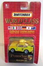 Matchbox Superfast 41e Porsche 935 - Yellow - World Class Series #22