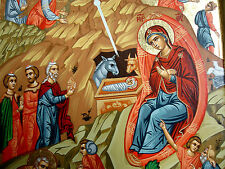 Nacimiento de jesús icono iconas Icon Icona icoon ICONE icoon Orthodox weihnachtsikone