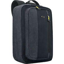 "SOLO Velocity 15.6"" Hybrid Backpack - Black Laptop Backpack NEW"