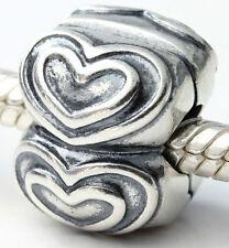 Genuine Pandora Silver Clip - Queen of Hearts - 790959