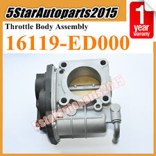 16119-ED000 Throttle Body Assembly For Nissan MICRA Tiida C11 HR16DE SERA526-01