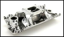 SBC CHEVY ELIMINATOR POLISHED VORTEC INTAKE MANIFOLD PC-2027 # PCE147.1020
