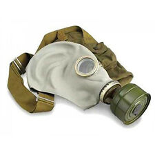 Soviet russian Gas mask GP-5. Gray rubber Full set.  NOS SIZE 0,1