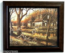 GROUSE BIRD PICTURE CABIN COUNTRY HOUSE OLD TRUCK WINDMILL FRAMED PRINT 8X10
