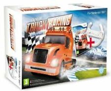 Nintendo Wii Bundle pack **EXTREME TRUCK RACING • AKA RIG RACER 2** nuovo import