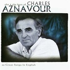 CHARLES AZNAVOUR She - The Best Of CD BRAND NEW