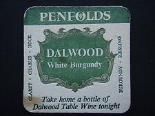 PENFOLDS DALWOOD WHITE BURGUNDY COASTER