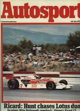 Autosport July 6th 1978 *French GP & Mike Hailwood TT*